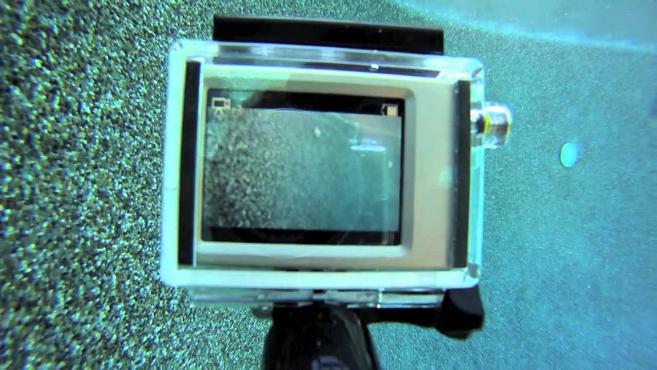 Tip #186 GoPro - BacPac LCD screen view underwater - YouTube