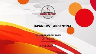 Japan v Argentina - FIVB Volleyball Men's World Cup Japan 2015