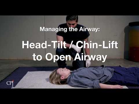 4d. Managing The Airway: Head-Tilt/Chin-Lift To Open Airway