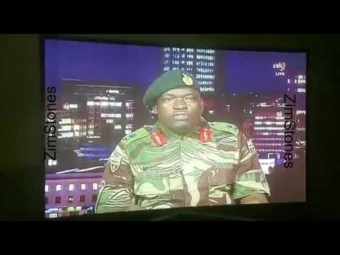 Zim Army ZBC Statement- Maj Gen SB Moyo ⬇️(Read Full Statement in Description box)