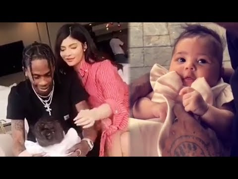 Kylie Jenner & Travis Scott GUSH Over Baby Stormi in Adorable Easter Video Mp3