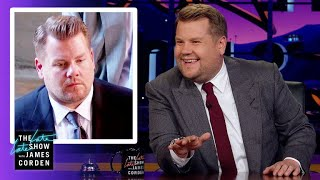James Corden Explains His Resting Royal Wedding Face