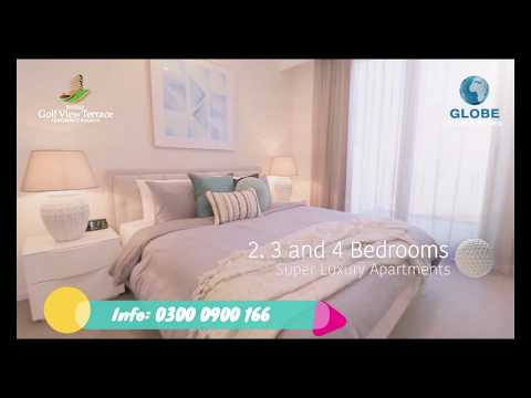 🔥Bahria Golf View Terrace Apartments Karachi🔥 Launching Soon - Globe Estate & Builders