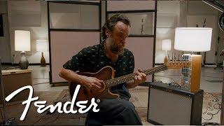 Rodrigo Amarante Demos The American Acoustasonic Series Telecaster | Fender Video