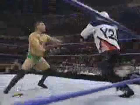 Ken Shamrock  vs Chris Jericho       SD!  09/21/99