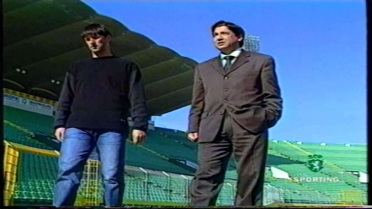 Entrevista a Pedro Barbosa (Sporting) em 04/02/1999