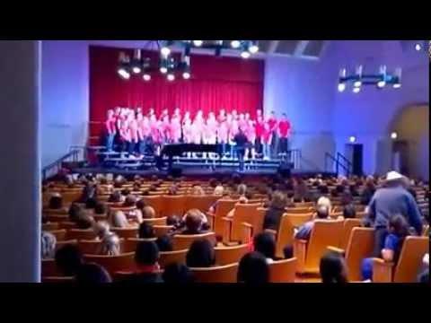 St. John's Choir Performs at the Forum Music Festival