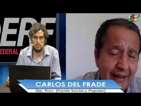 Del Frade: La concentración de tierras es obscena en Santa Fe