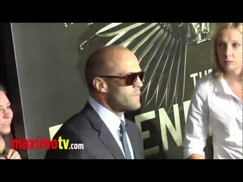 "Jason Statham at ""The Expendables 2"" Los Angeles Premiere ARRIVALS"
