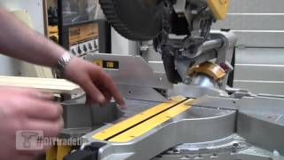 Dewalt Dws780 Compound Slide Mitre Saw With Xps