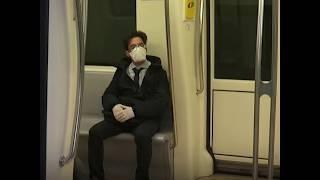 保持一米距离:意大利罗马地铁测试社交疏离新规定