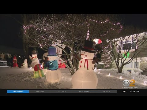 New York And New Jersey Teens Spark Joy With Massive Holiday Light Displays