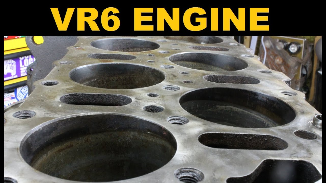 hight resolution of vr6 engine explained