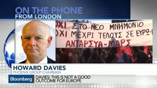 Greek Agreement Not a Good Outcome for Europe: Davies
