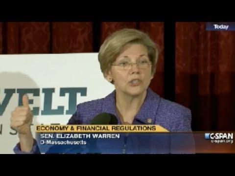 Sen. Elizabeth Warren Demands Wall Street Reform (Full Speech)