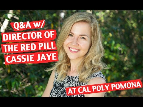 Q&A with Cassie Jaye at Cal Poly Pomona
