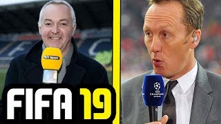 FIFA 19 NEW COMMENTARY BY DEREK RAE & LEE DIXON - FIFA 19 Champions League