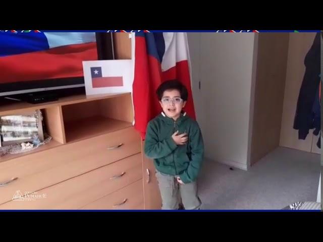 Himno Nacional de Chile, interpretado por 1°básico del Colegio Pumahue Curauma