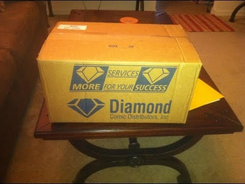 My First Diamond Comics Shipment Unboxing