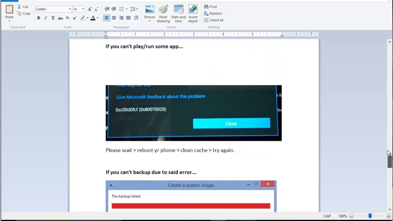 0x80070020: код ошибки при установке обновлений Windows 10