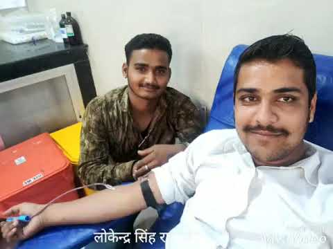 रक्तदान शिविर का शानदार जलक