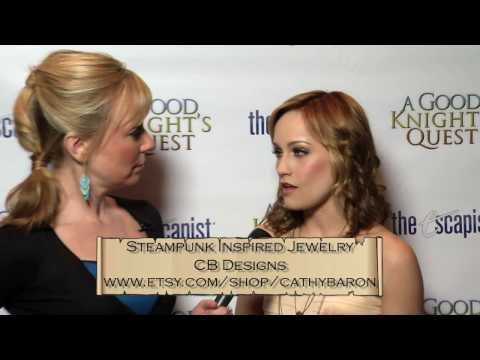 CB Designs by Cathy Baron at A Good Knight's Quest Premiere