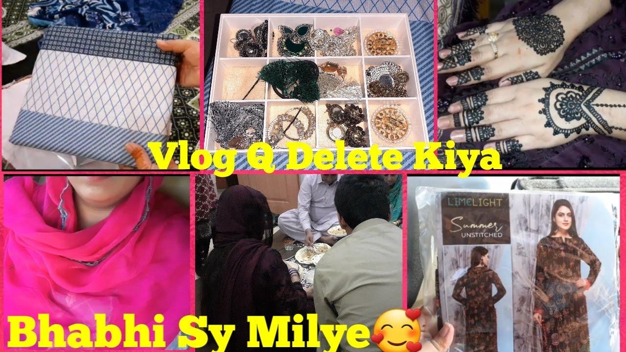 Bhabhi Ki Pheli Eid Aur Bhabhi K Lye Lya Main Ny Gift|Sister K Ghr Dawat|Mehndi Design|Ah Glam Gurll
