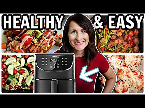 5 HEALTHY Air Fryer Recipes that are EASY