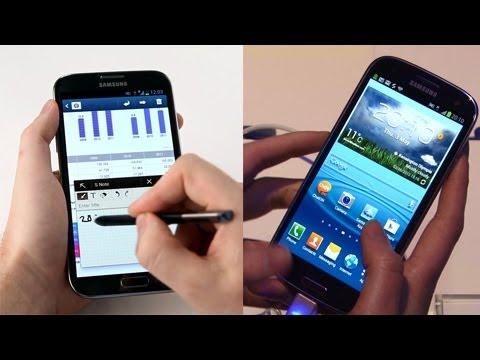 Samsung Galaxy Note Vs S3 Price Release Date Price