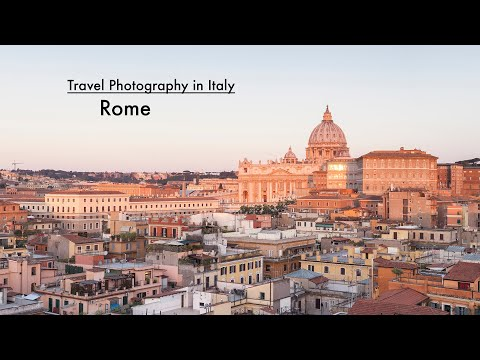 Travel Photography in Italy - Rome