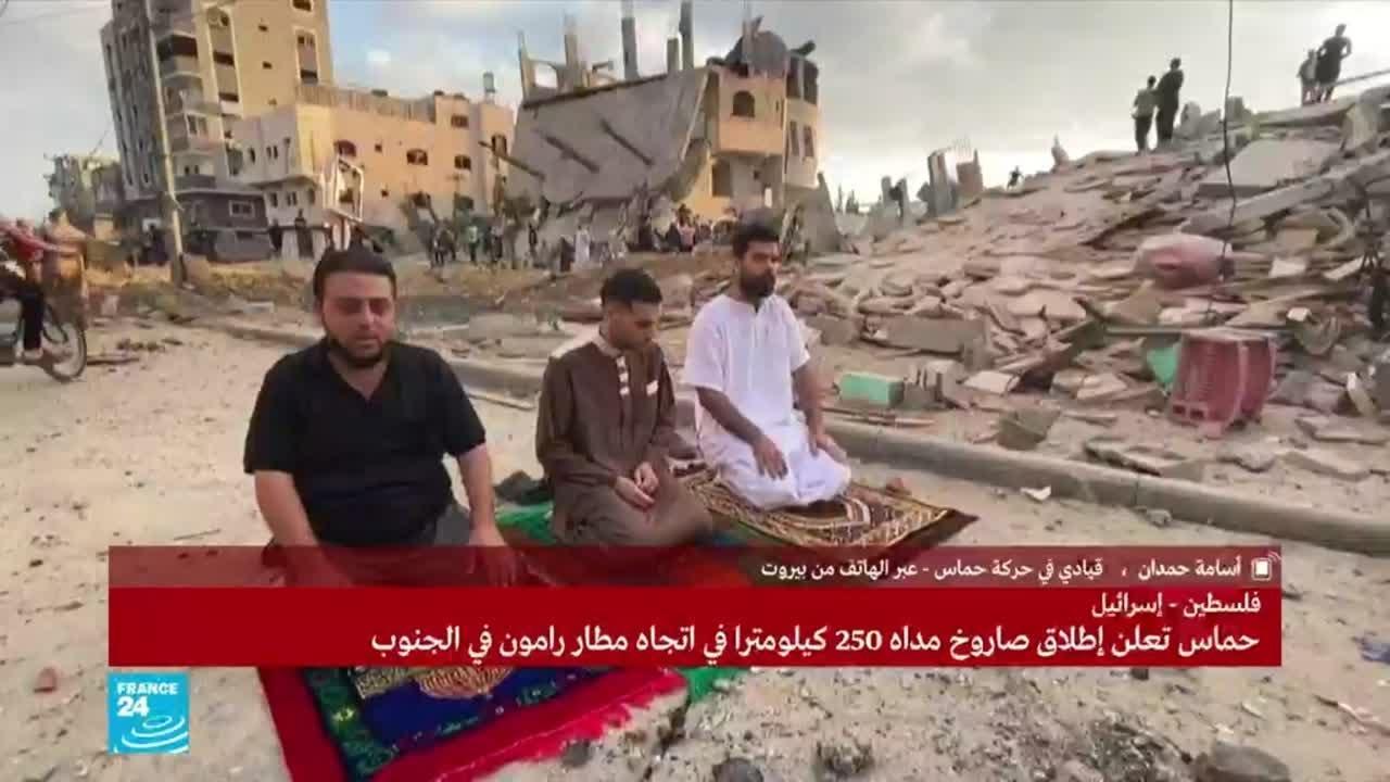 القيادي في حماس أسامة حمدان يعلق على إطلاق صواريخ من لبنان على إسرائيل  - نشر قبل 29 دقيقة