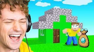 STEALING DIAMONDS From JELLY In Minecraft!