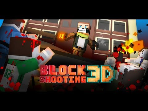 Block Shooting 3D: Zombie Wars Online (Survival) Trailer