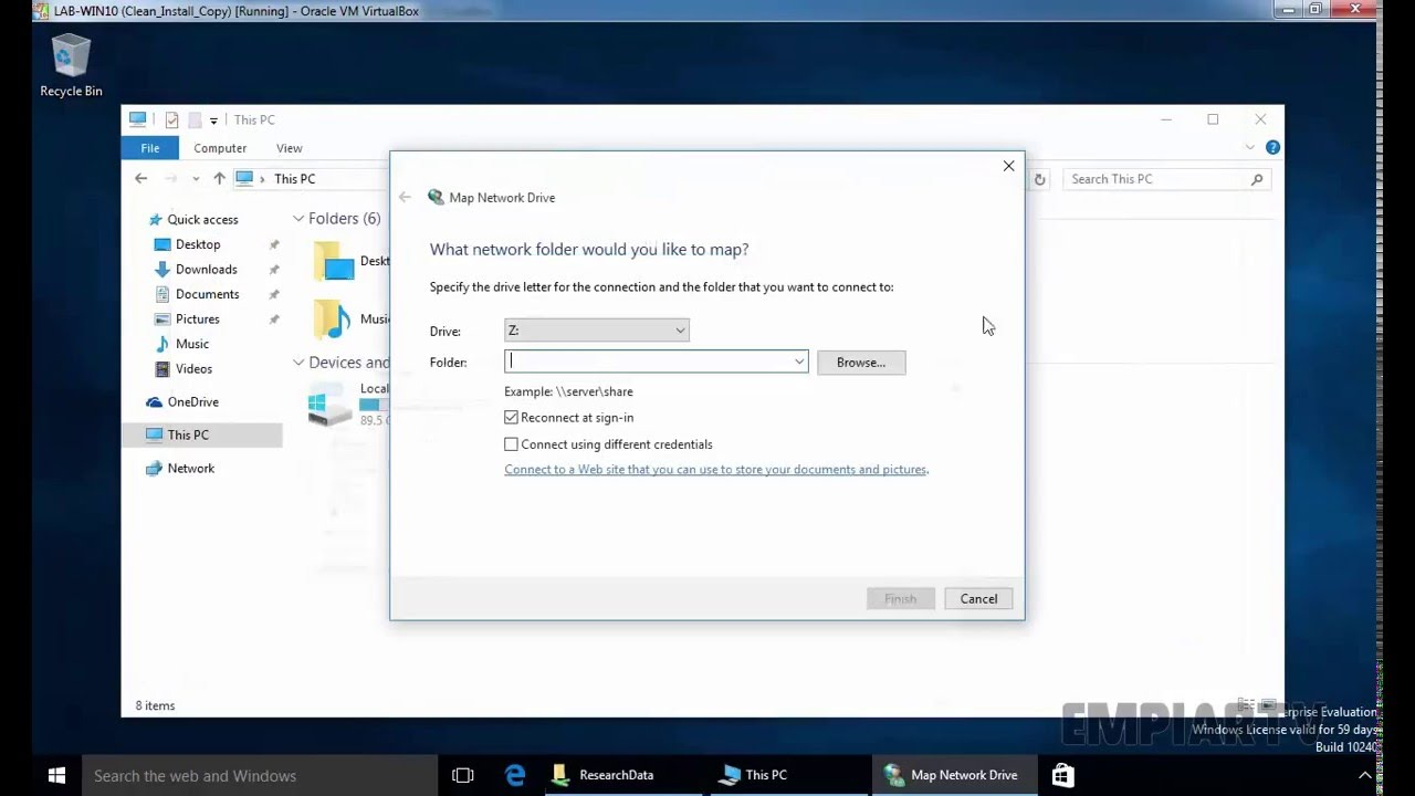windows 10 how to disconnect a neetwork drive