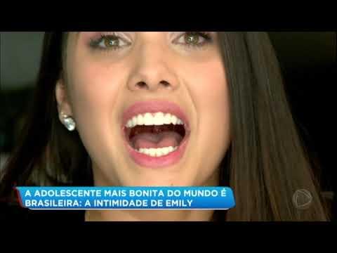 Conheça A Brasileira Eleita A Adolescente Mais Bonita Do Mundo