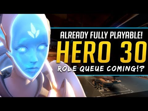 Overwatch Hero 30 already Playable! - Role Queue System coming!? thumbnail