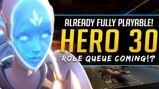 Overwatch Hero 30 already Playable! - Role Queue System coming!?