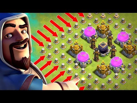 LOOT MAZE! CAN ANYONE GET MY MONEY!? - Clash Of Clans