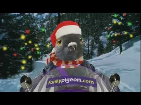 Funky Pigeon Christmas Cards TV Ad YouTube