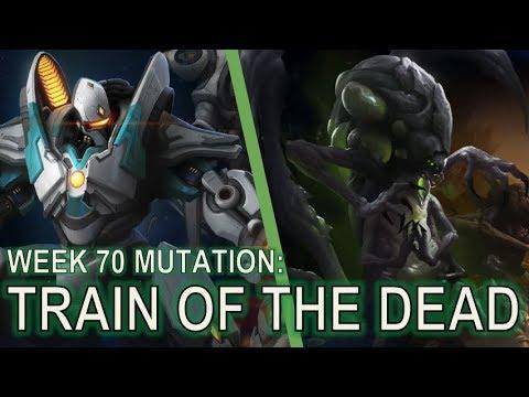 Starcraft II Co-Op Mutation #70: Train of the Dead [Fenix in the Mutation!]