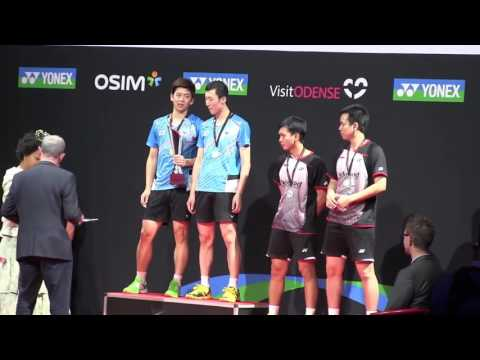 Nice Badminton MD Final Lee Yong Dae 이용대 / Yoo Yeon Seong 유연성 (KOR) vs M Ahsan / H Setiawa