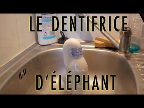 elephant toothpaste potassium permanganate instructions