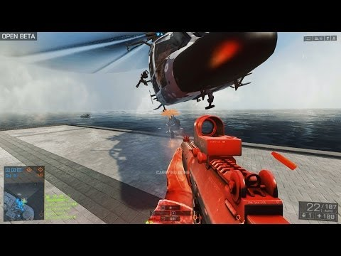 """BF4 BETA - Global Conflict organized 32vs32 """"Reclaiming the Bomb"""""""