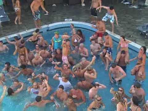 Summer Skank Dance Seva Pool In Kos Workers Party Put Them Ks In The Air Kos Special