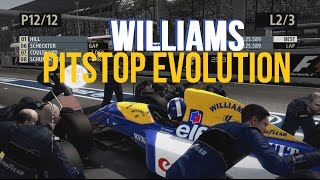 F1 Game Williams Pitstop Evolution » 1980s, 1990s, 2000s « [PART 2]