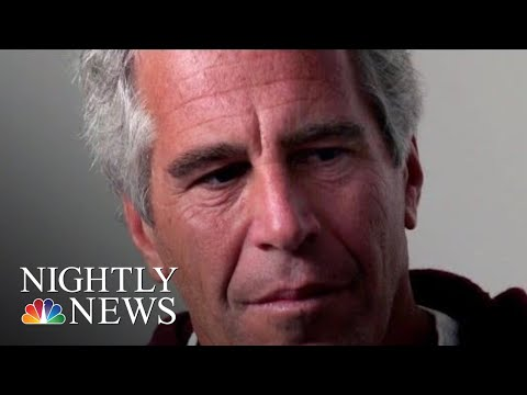 FBI Agents Raid Jeffrey Epstein's Private Caribbean Island | NBC Nightly News