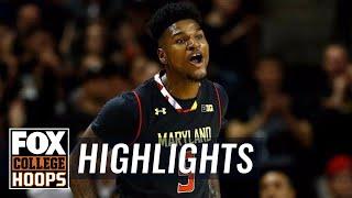 Maryland vs Butler | Highlights | FOX COLLEGE HOOPS