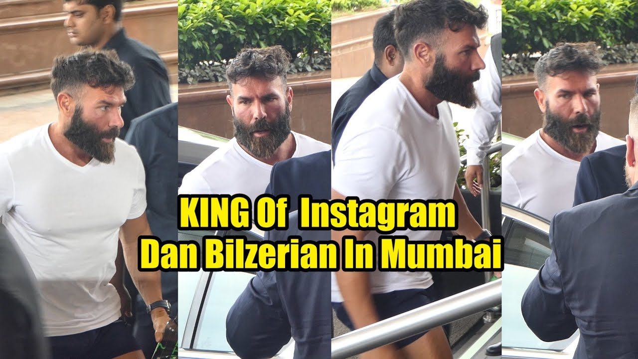 King Of Instagram Dan Bilzerian Arrives Mumbai To Announce His Association With Livepools India Youtube