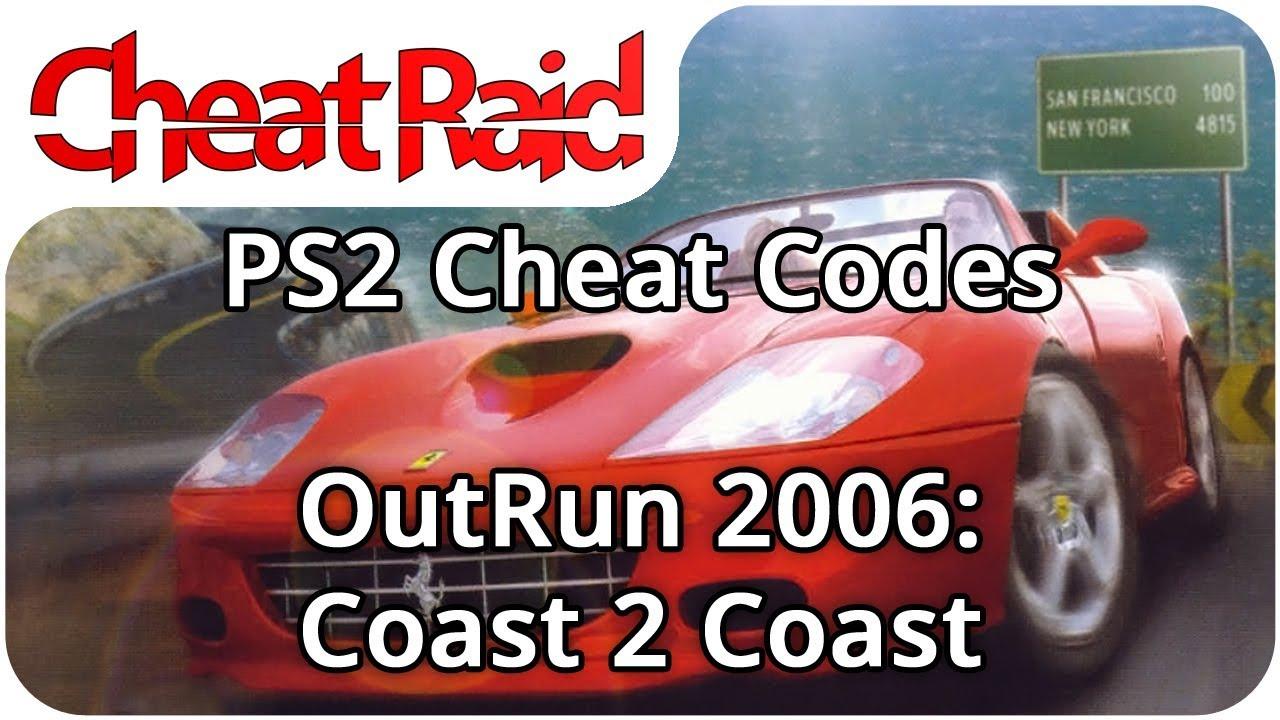 OutRun 2006: Coast 2 Coast Cheat Codes   PS2