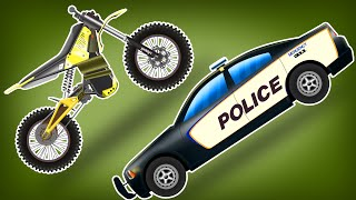 Bike VS Police Car | Police Chase | Bike Stunts